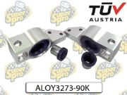 Audi Seat Skoda VW SuperPro Alloy Bracket Kit Control Arm-/Trailing Arm Bush